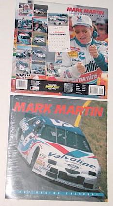 1997 Mark Martin 12 X 12 Valvoline calendar