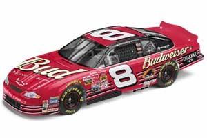 2002 Dale Earnhardt Jr 1/64 Budweiser car