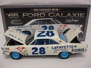 "1965 Fred Lorenzen 1/24th LaFayette Ford ""Galaxie"""
