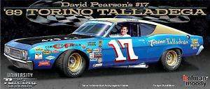 """1969 David Pearson 1/24th """"East Tennessee Motor Co"""" Ford Torino car"""